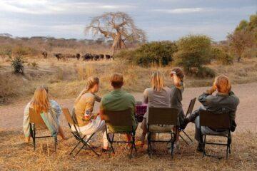 family safari in tanzania